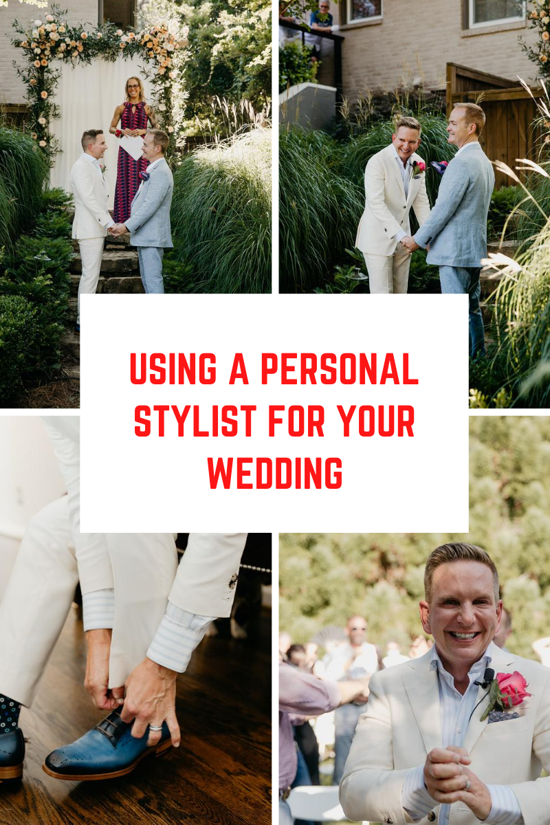 Personal Stylist for Your Wedding
