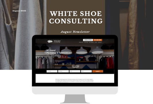 Preview Of Fashion Consulting Newsletter for August