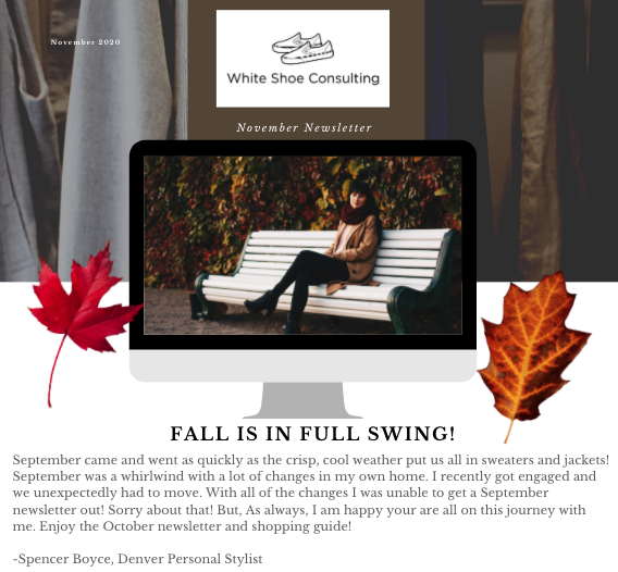 October Blog Post 2020 Personal Styling