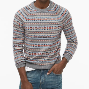 Mens Christmas Patterned Sweater