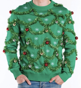 Mens Festive Holiday Sweater