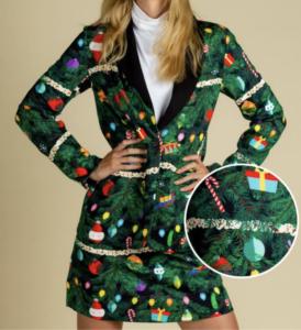 Women's Festive Holiday Dress