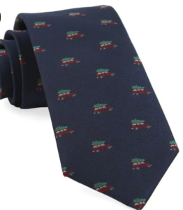 Men's Christmas Vacation Inspired Tie