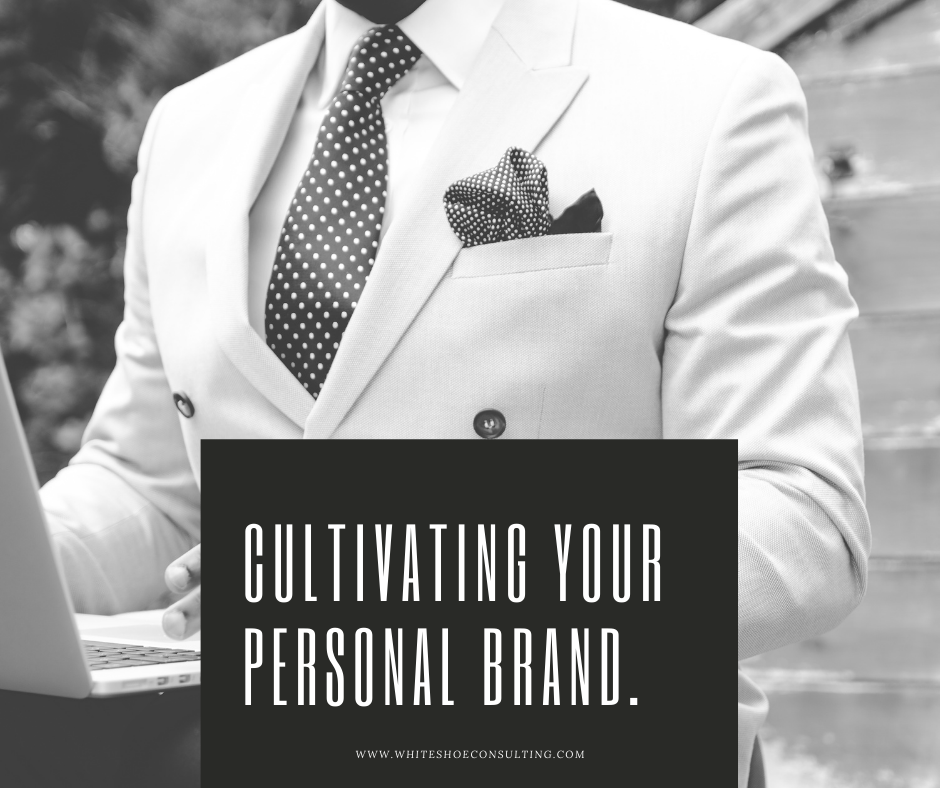 """""""Cultivating Your Personal Brand"""" Title Card"""