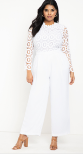 Outfits that you can wear past labor day; white jumper